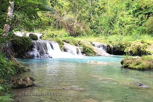 Places to Visit: Travel Information on Cambugahay Falls, Siquijor Island, Philippines