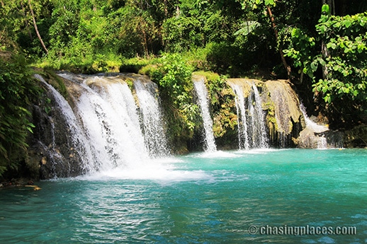 Places to Visit: Cambugahay Falls, Siquijor Island, Philippines