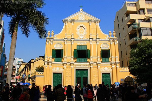No shortage of historic architecture in Macau