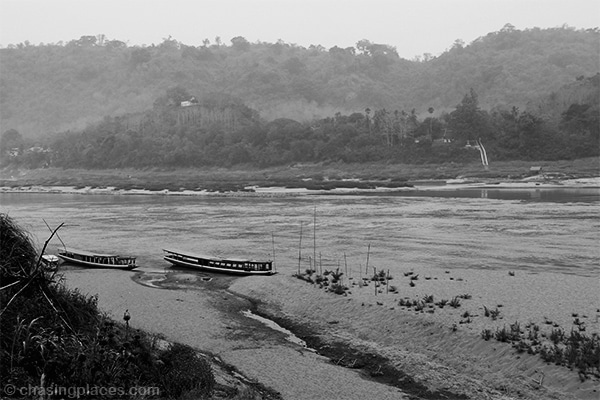 The Mekong River beside Luang Prabang