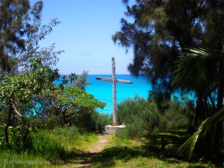 Christianity has found the secluded island of Ouvea