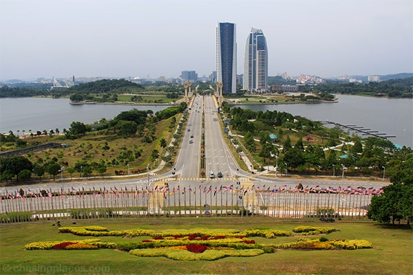 A scenic look at the mighty Putrajaya