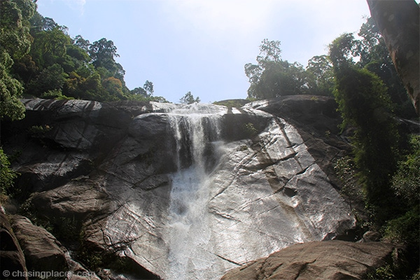 The Seven Wells Waterfalls