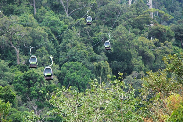 Langkawi's famed Cable Car