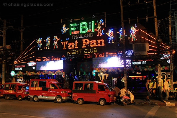 One of the larger clubs right off of Bangla Rd.