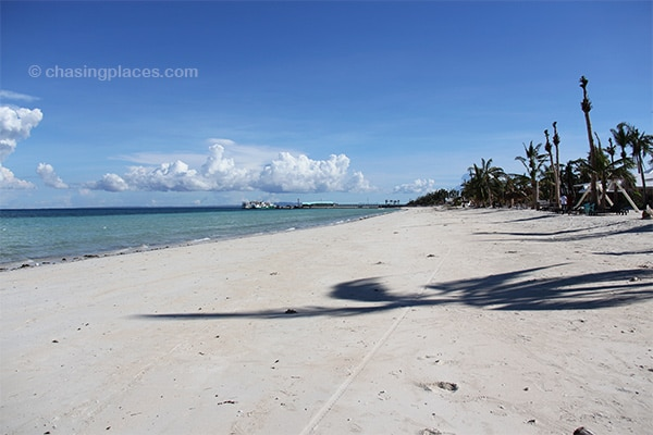 Beautiful Alice Beach on Bantayan Island