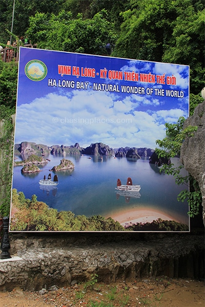 Halong Bay, one of the new 7 Wonders of the World
