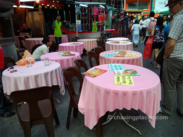 No shortage of food options around Petaling Street