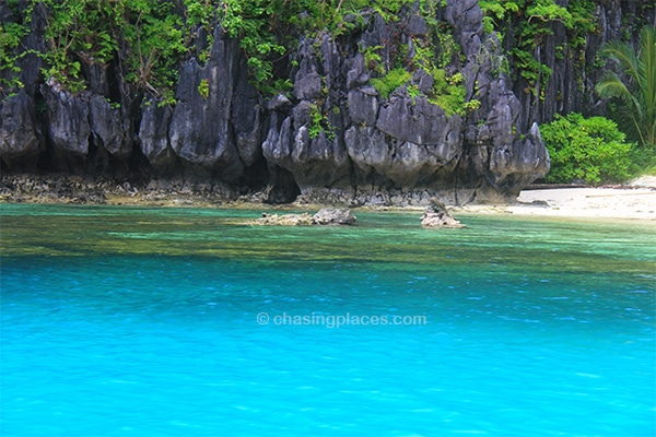 World famous water colour moments away from El Nido
