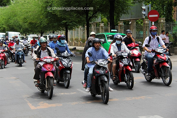 Mto action in Ho Chi Minh