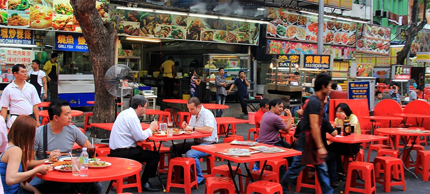 Chasing Places (Slider) Jalan Alor food street