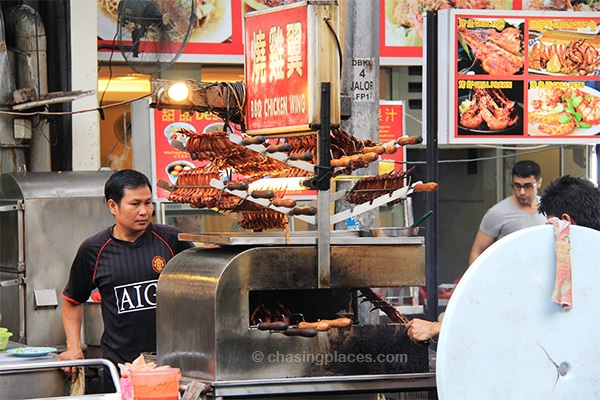 Street food galore along Jalan Alor