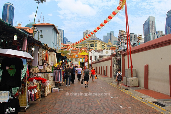 China Town in Singapore is another excellent location for budget accommodation choices