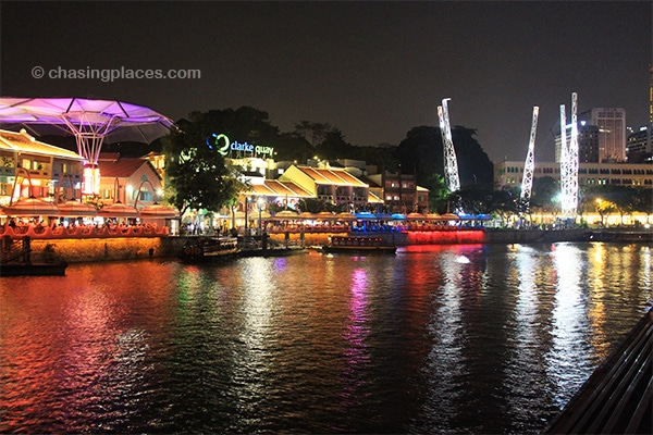Clarke Quay is always ready to party the night away