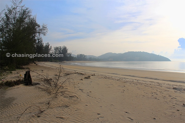 Cherating Beach in the early morning