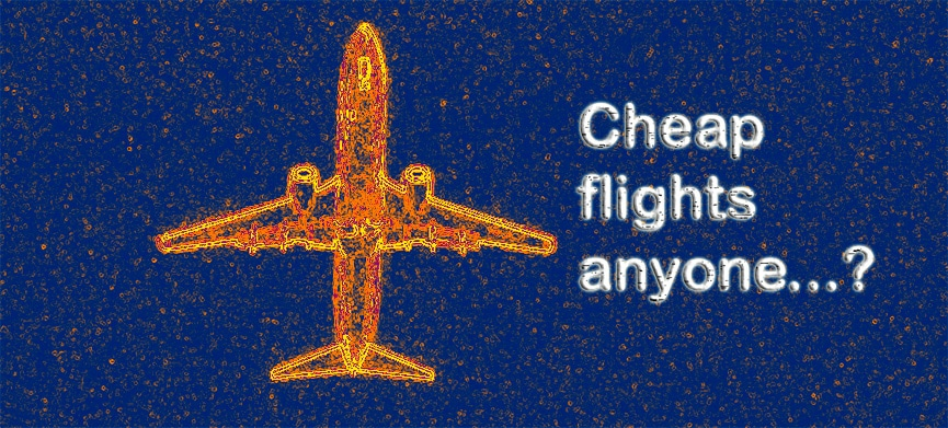 Chasing Places Slider: Ways to Getting Cheap Flights