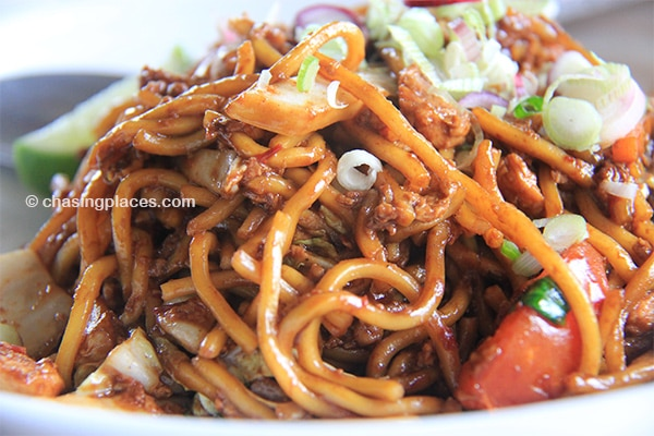Some tasty, yet affordable mee goreng at 5 RM
