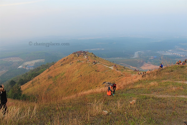 Broga Hill with a view beyond