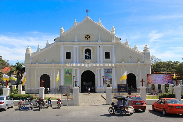 One of the best known landmarks in Vigan, the Cathedral