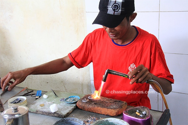Some of the locals are true silver artisans