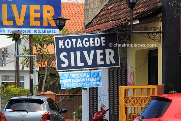 There is no shortage of silver in Kota Gede. Get ready toexplore.