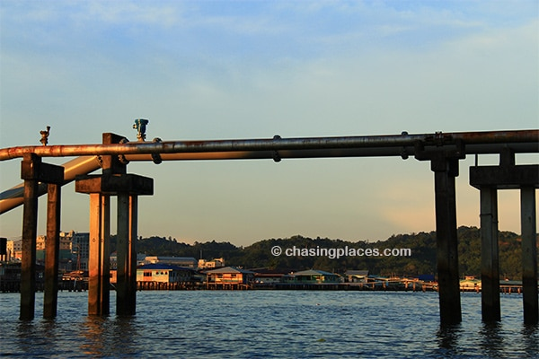 Kampong Ayer is a worthwhile boat tour minutes away from Bandar Seri Begawan