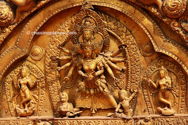 The ancient designs at Bhaktapur's Durbar Square are sure to please