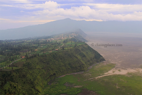 The landscape around Mount Bromo is simply breathtaking
