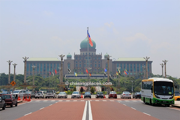 Perdana Putra, home of the Prime Minister's Office