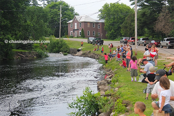 The Killaloe Fishing Derby held at Brennan's-Creek.