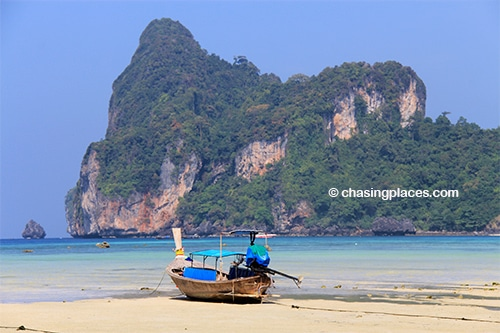 Get ready for top notch scenery on Koh Phi Island