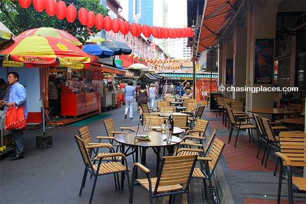 You have sample some tasty snacks while in Chinatown,-Singapore.