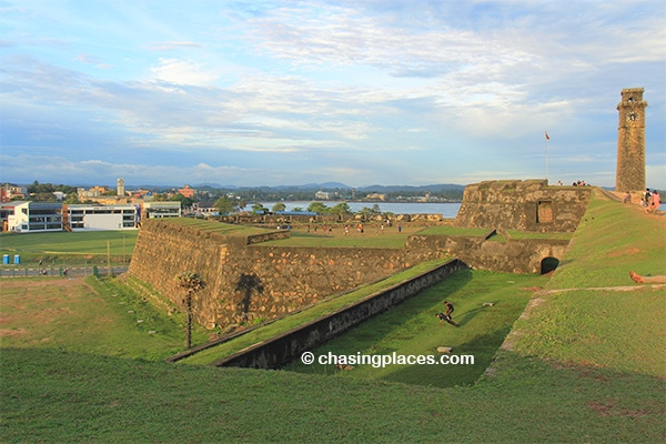 Be prepared for beautiful scenery while in Galle Fort, Sri Lanka