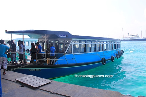 Be sure to look into transport options before you arrive in the Maldives