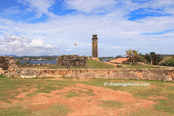 Fort Galle in the late afternoon