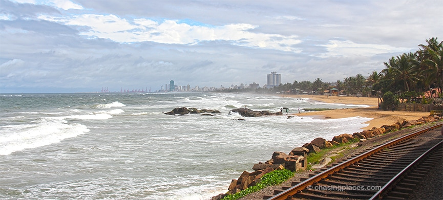 The coastal views are stunning after you pass Colombo