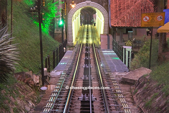 Take the funicular train up Penang Hill for great views of Georgetown