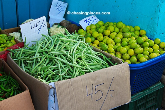 Consider checking out the produce market while in Male