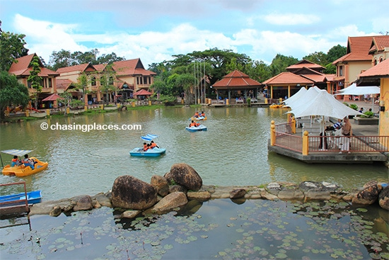 Paddle around at Langkawi's Oriental Village