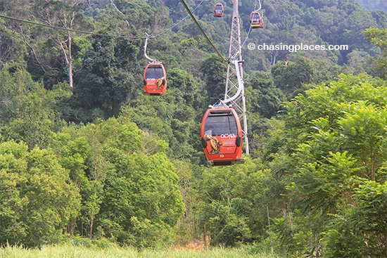 Whisk your way up in the Langkawi SkyCab