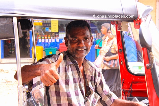 Yunis, our driver in Colombo, Sri Lanka