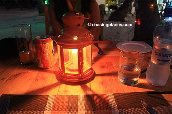 Enjoy a candle lit dinner by the Indian Ocean while on Maafushi Island,-Maldives