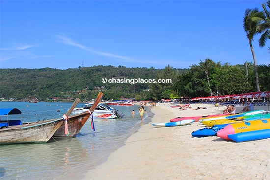 Koh Phi Phi's beaches still have some charm. Just try to find a quite corner somewhere