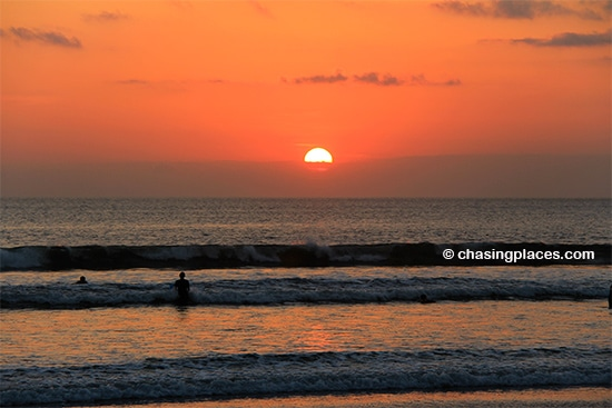 Regarless of what you hear about Kuta, the sunsets are hard to dispute
