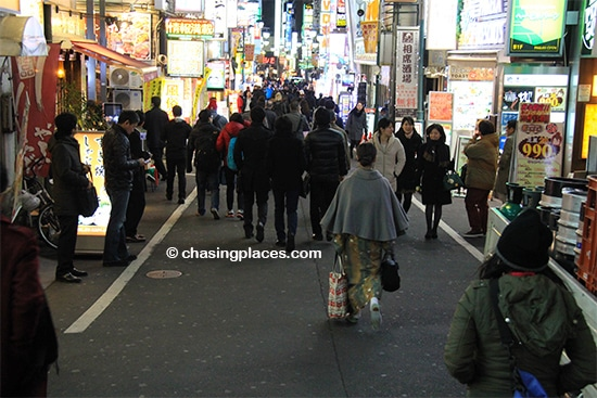 Seeing the action packed streets of Tokyo is worth the trip to Japan alone