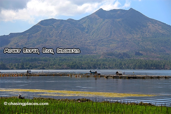 Take a bike ride by Mount Batur for stunning scenery while in Bali