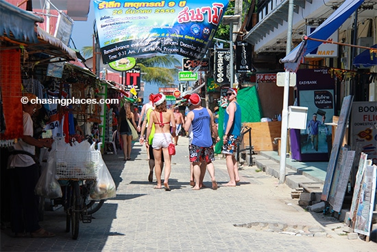 You might even find Santa Clause on Koh Phi Phi