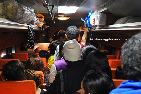 Be prepared for a crammed ride from Laoag to Pagudpud