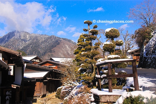 Be prepared for meticulously maintained gardens in Tsumago