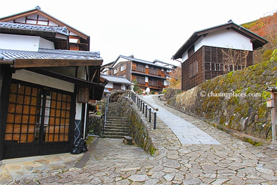 Have your camera fully charged before you see the aged cedar houses in Magome